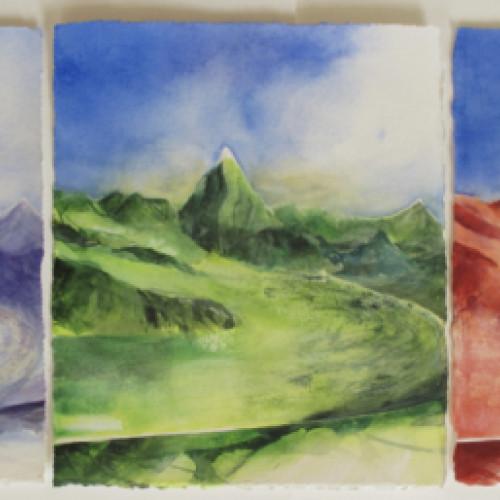 2020 - Matterhorn<br> je 26 x 31 cm